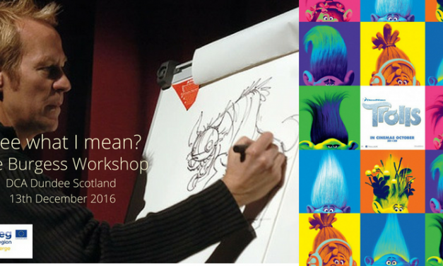 See what I mean? Workshop with 'Trolls' Dave Burgess of DreamWorks