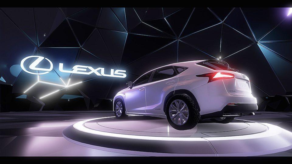 Lexus VR Experiance