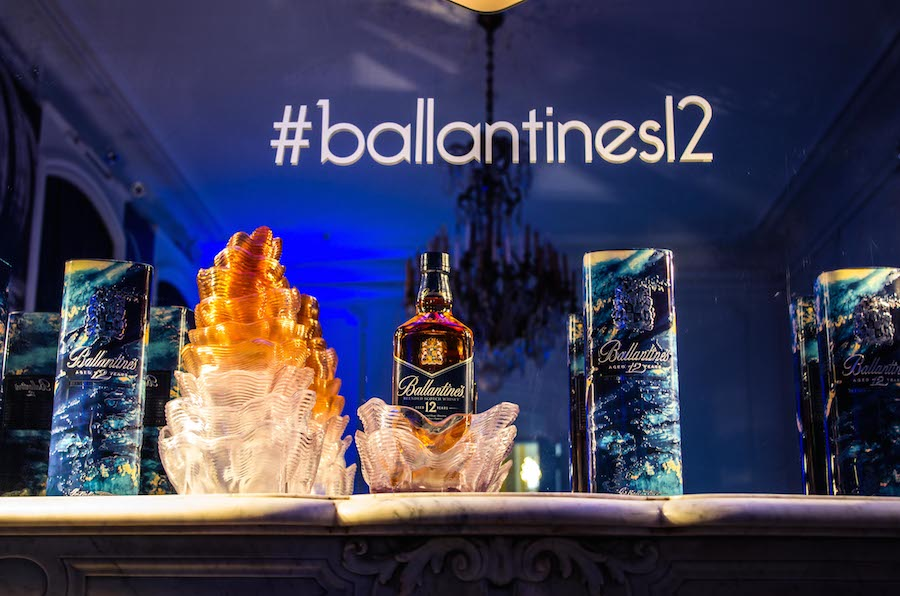 3D Printed display for Ballantine's Whisky
