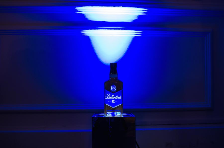 Ballantine's Whisky 3D printed Display
